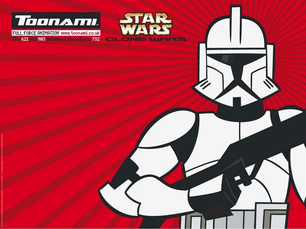 Star Wars Wallpaper: Clone Wars - Toonami