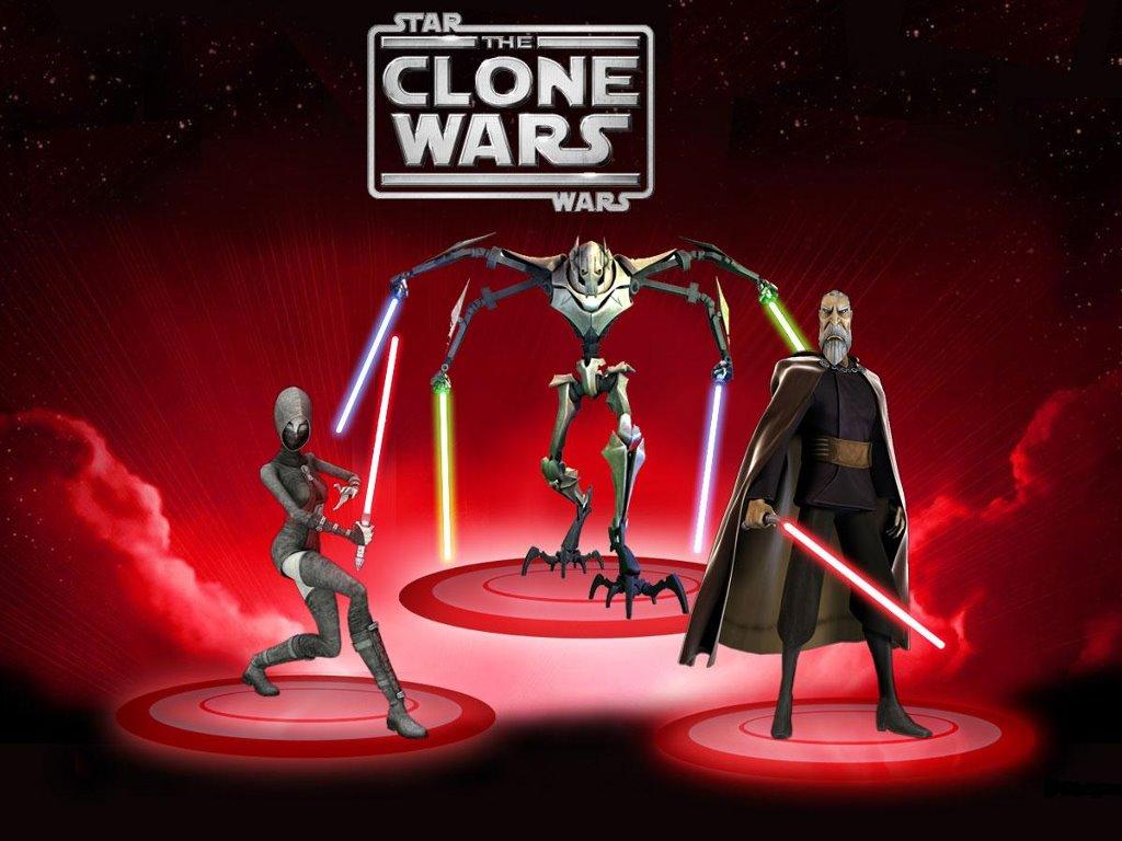 Star Wars Wallpaper: Clone Wars - Villains