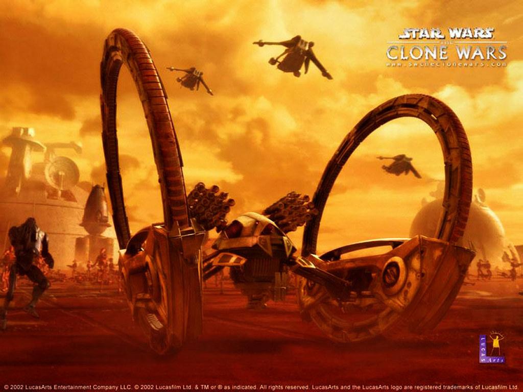 Star Wars Wallpaper: Clone Wars - War Machine