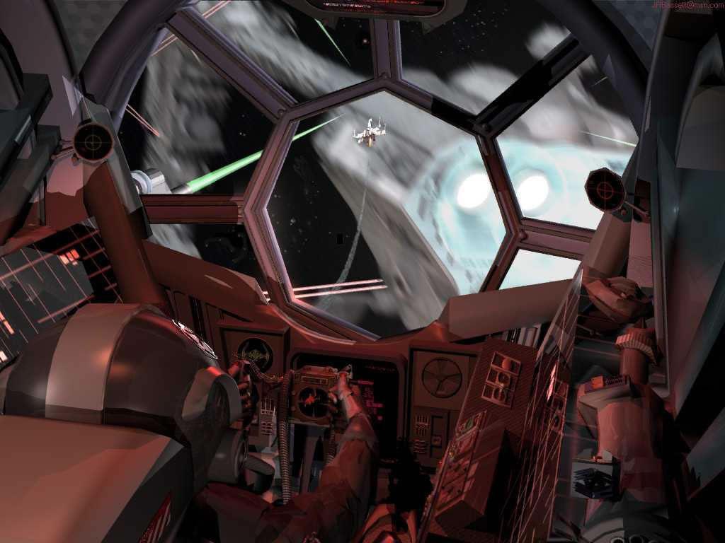 Star Wars Wallpaper: Cockpit