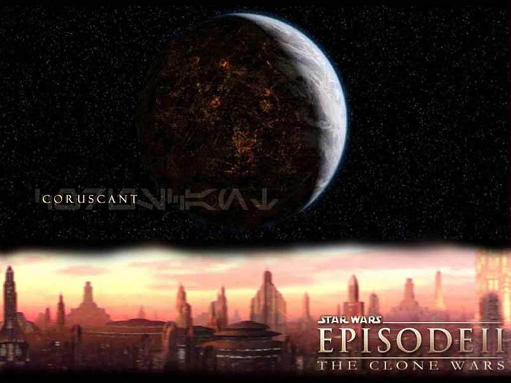 Star Wars Wallpaper: Coruscant - Episode 2