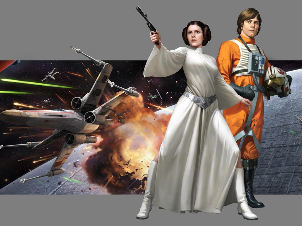 Star Wars Wallpaper: Darren Tan - Age of Rebellion