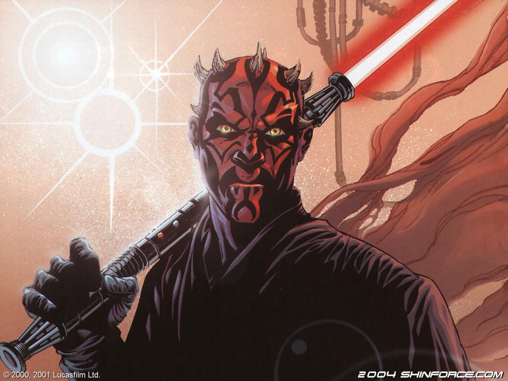 Star Wars Wallpaper: Darth Maul (Comics)