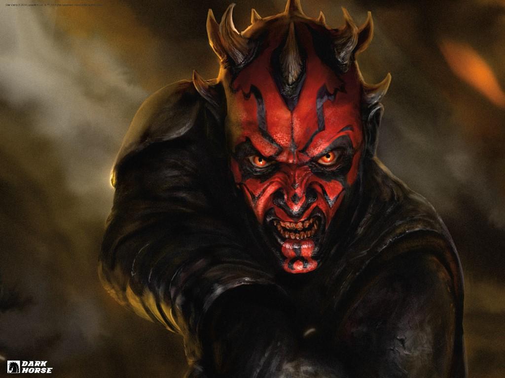 Star Wars Wallpaper: Darth Maul - Dark Horse Comics
