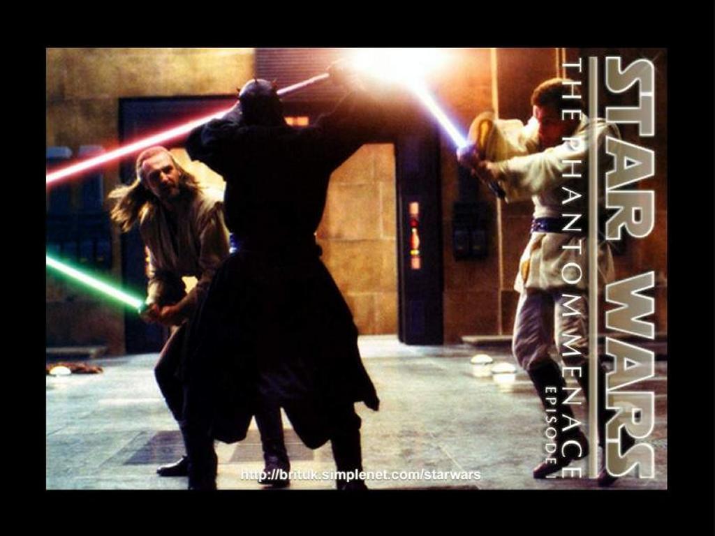 Star Wars Wallpaper: Darth Maul - Final Fight
