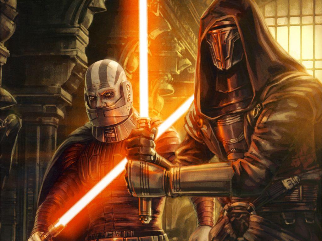 Star Wars Wallpaper: Darth Revan and Darth Malak