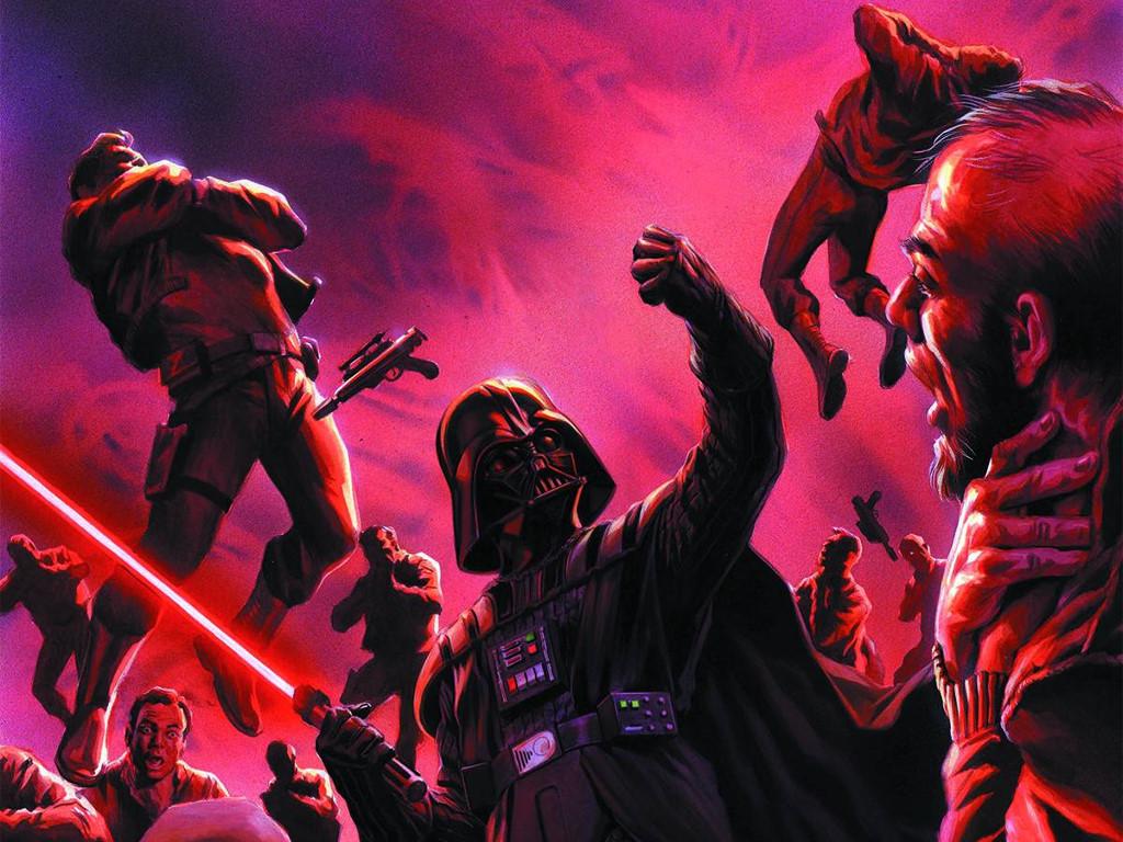 Star Wars Wallpaper: Darth Vader and the Cry of Shadows