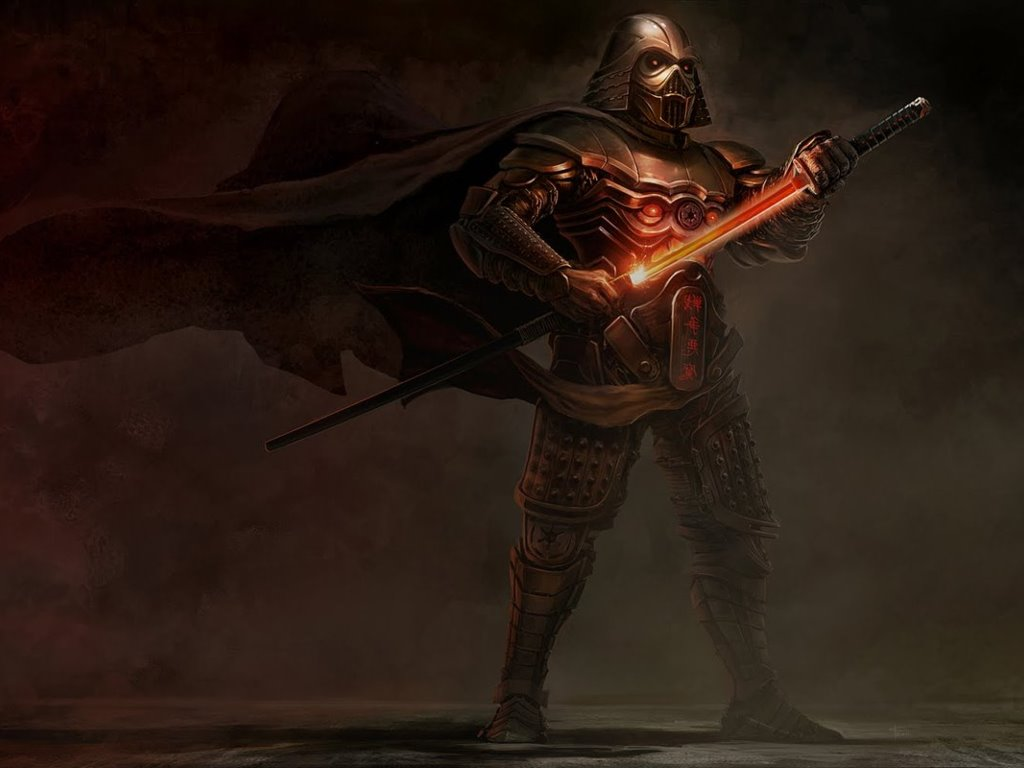 Star Wars Wallpaper: Darth Vader - Feudal Style