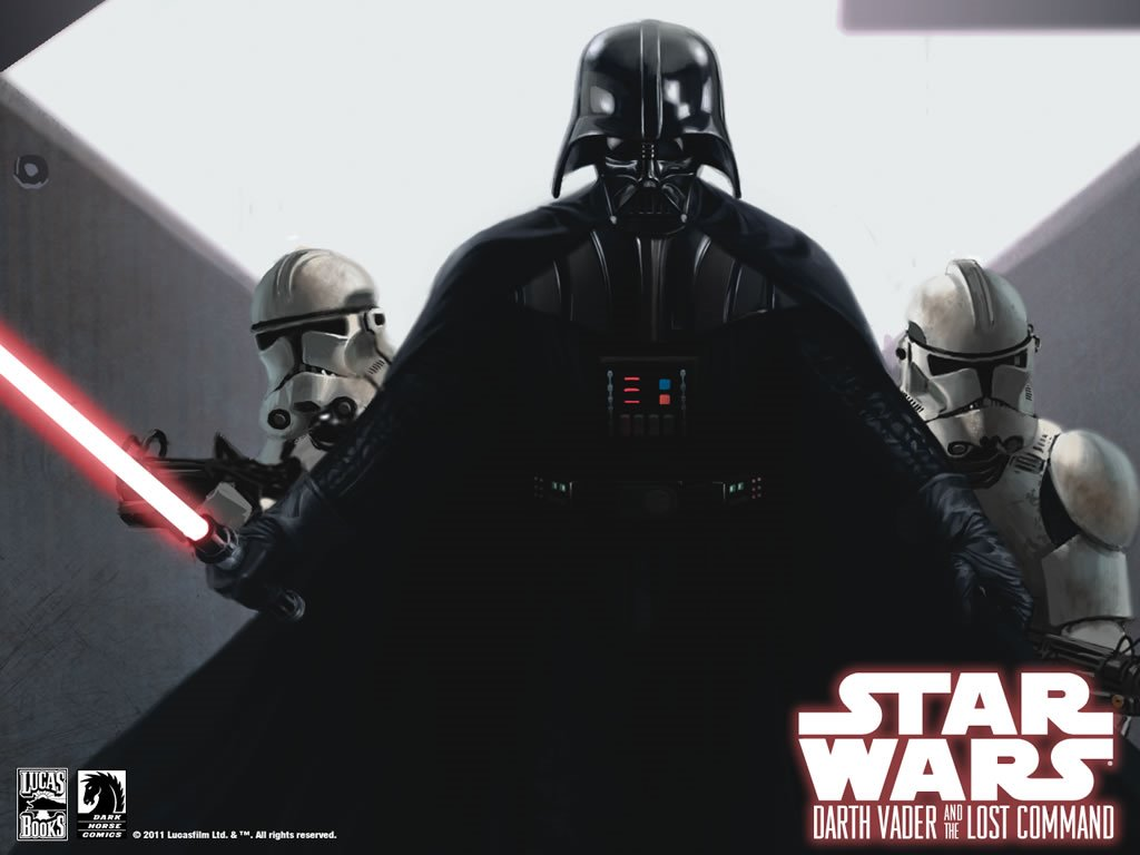 Star Wars Wallpaper: Darth Vader and the Lost Command