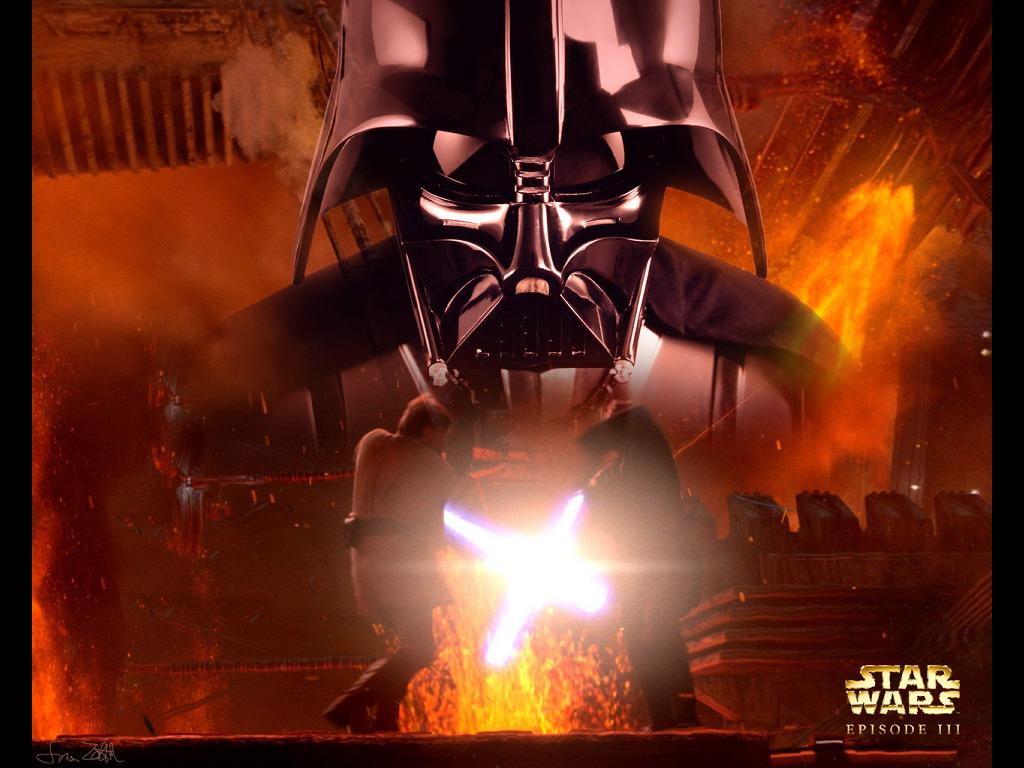 Star Wars Wallpaper: Darth Vader - Mustafar Duel