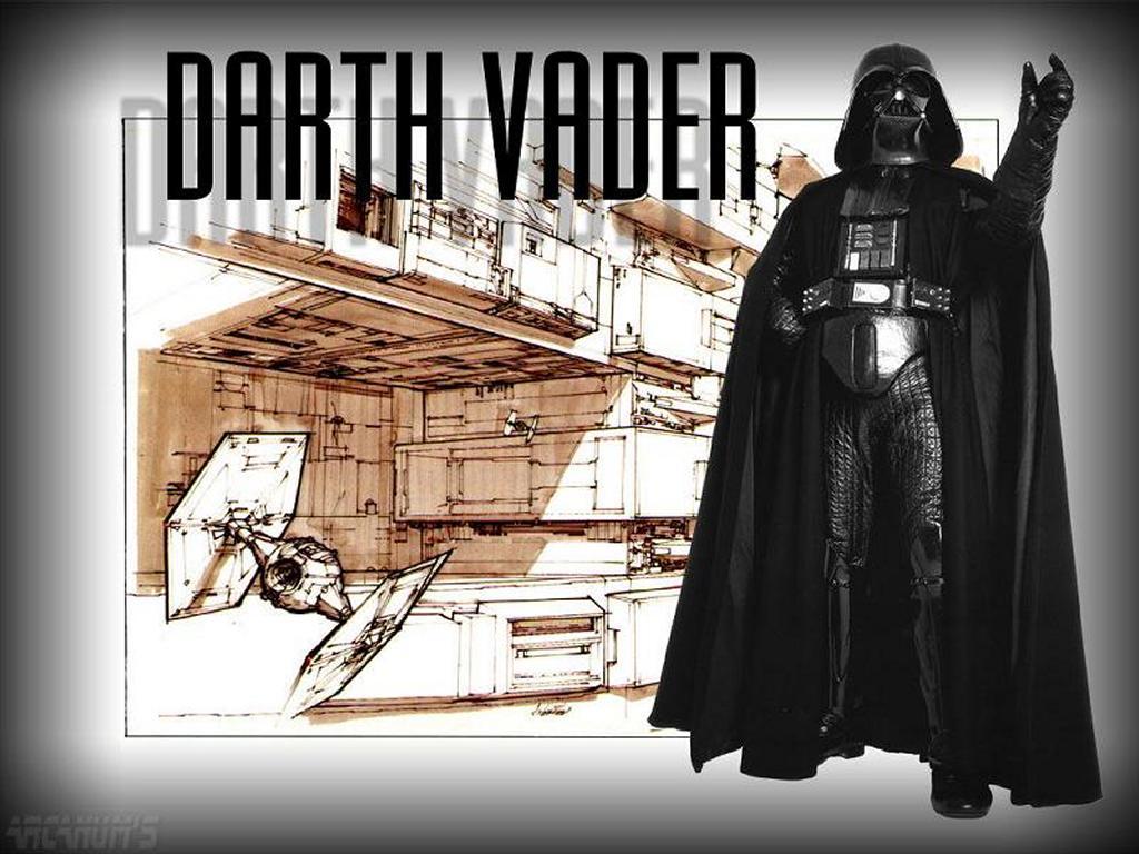 Star Wars Wallpaper: Darth Vader - Sketch