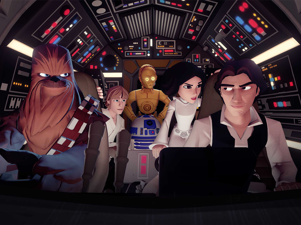 Star Wars Wallpaper: Disney Infinity - Rise Against The Empire