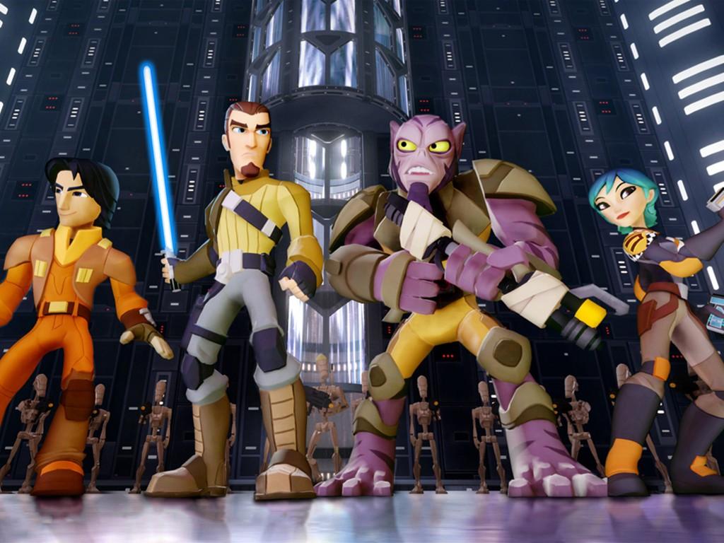 Star Wars Wallpaper: Disney Infinity - Star Wars Rebels