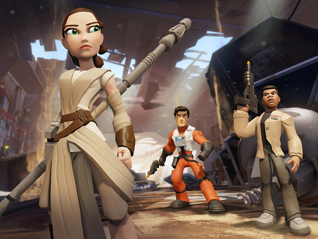Star Wars Wallpaper: Disney Infinity - The Force Awakens