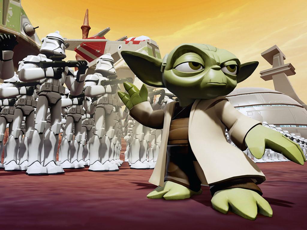 Star Wars Wallpaper: Twilight of the Republic - Disney Infinity
