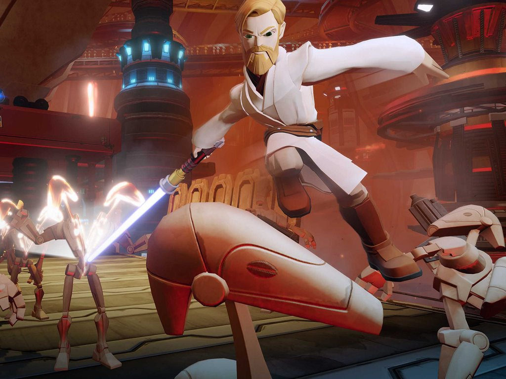 Star Wars Wallpaper: Twilight of the Republic - Disney Infinity