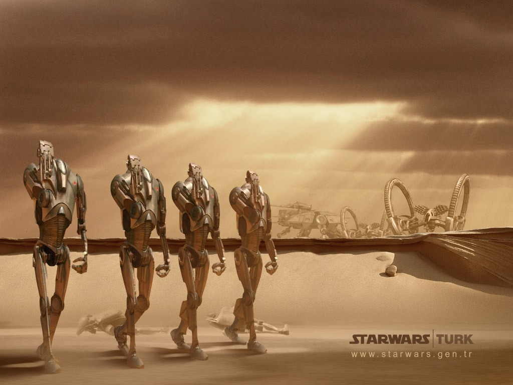 Star Wars Wallpaper: Droids