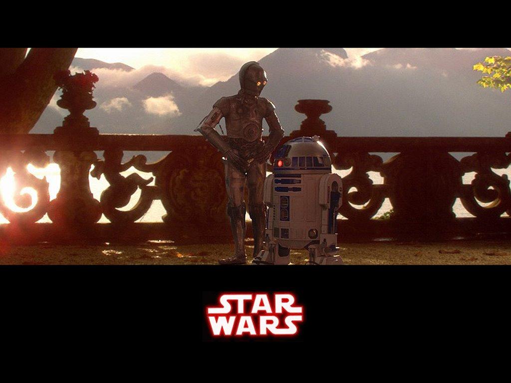 Star Wars Wallpaper: Droids - Naboo
