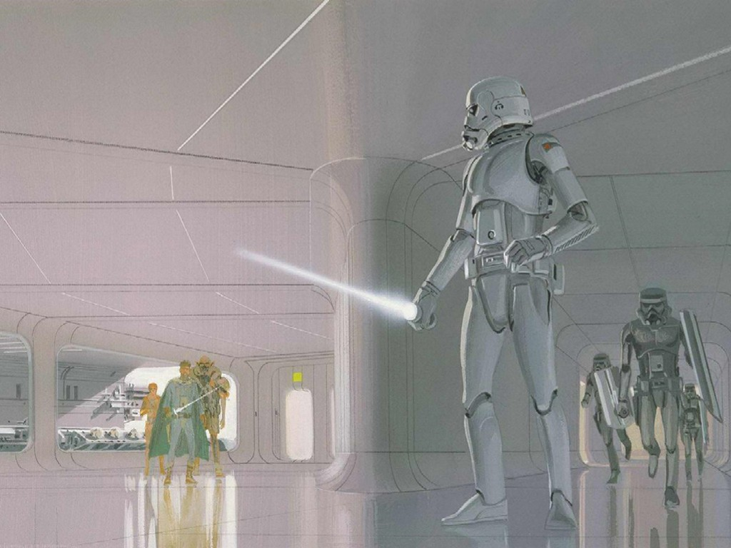 Star Wars Wallpaper: Ralph McQuarrie - Early Drafts