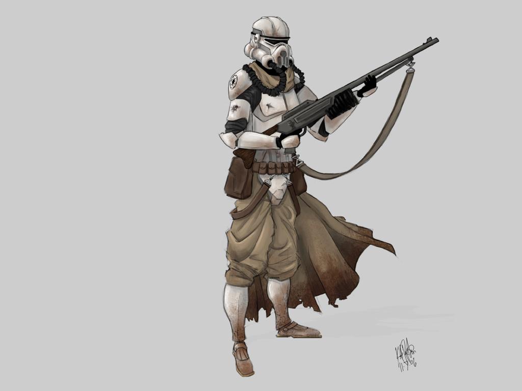 Star Wars Wallpaper: Elite Trooper