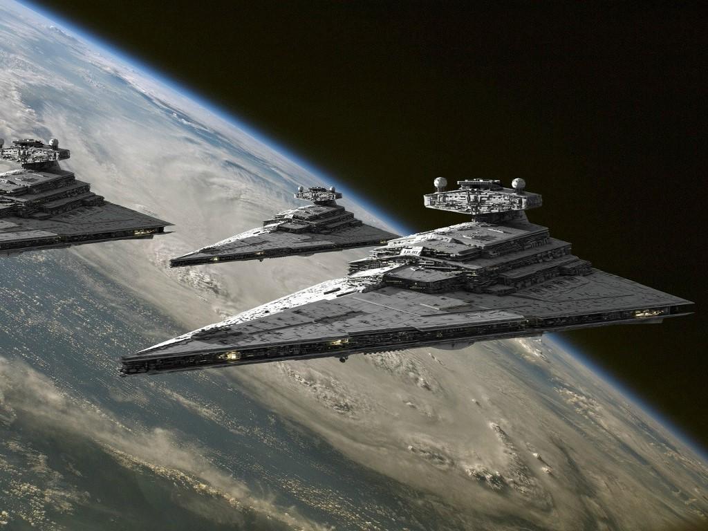 Star Wars Wallpaper: Empire - Armada