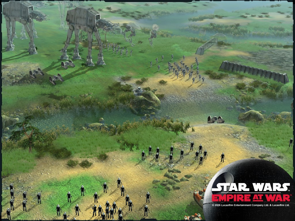 Star Wars Wallpaper: Empire at War