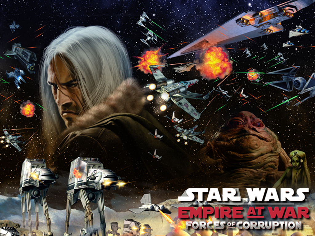 Star Wars Wallpaper: Empire at War - Forces of Corruption