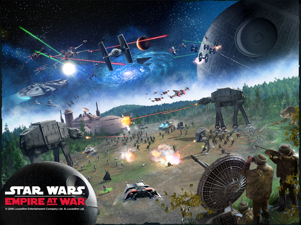 Star Wars Wallpaper: Empire at War