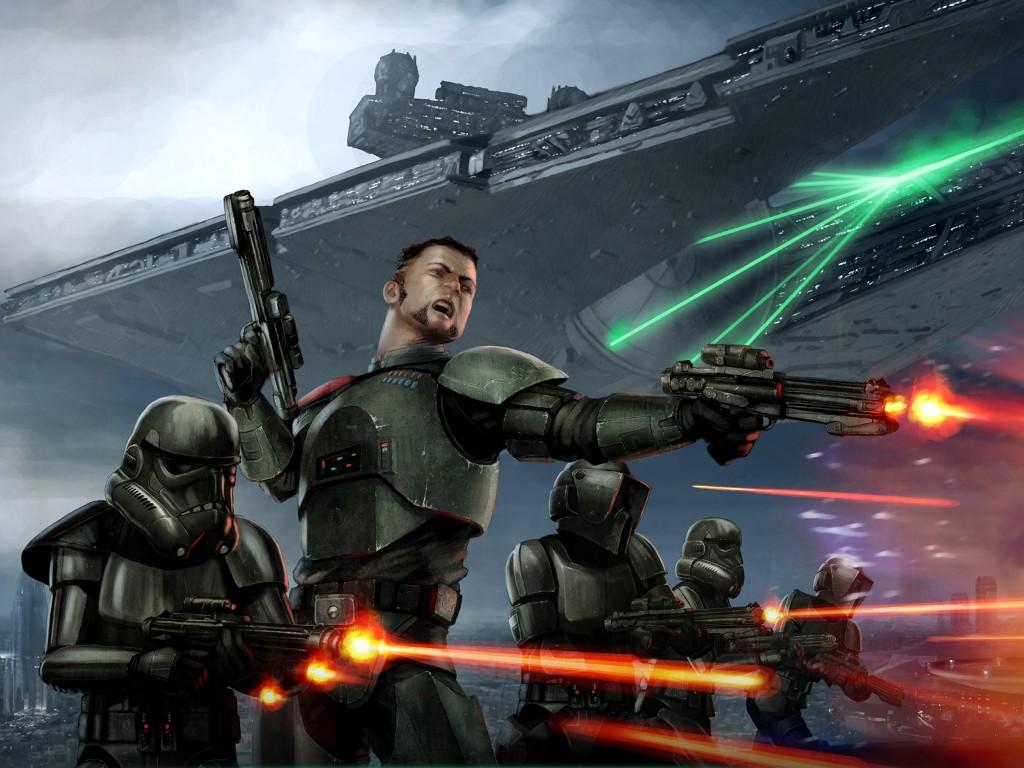 Star Wars Wallpaper: Empire - Black Ops