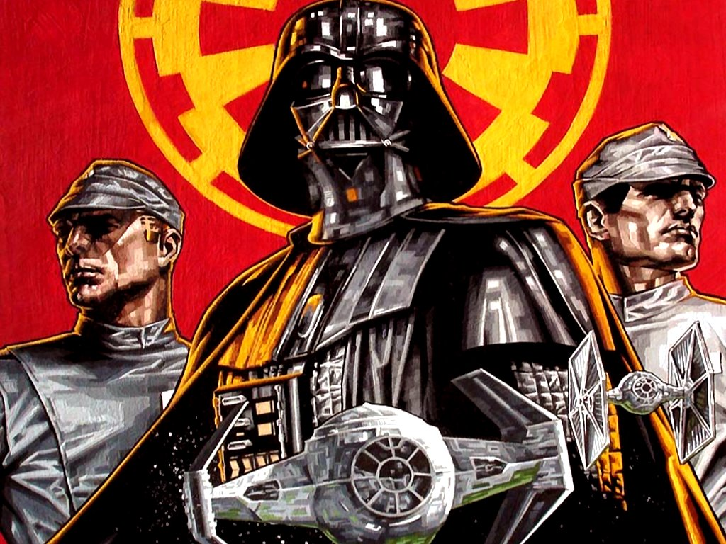 Star Wars Wallpaper: Empire is Power