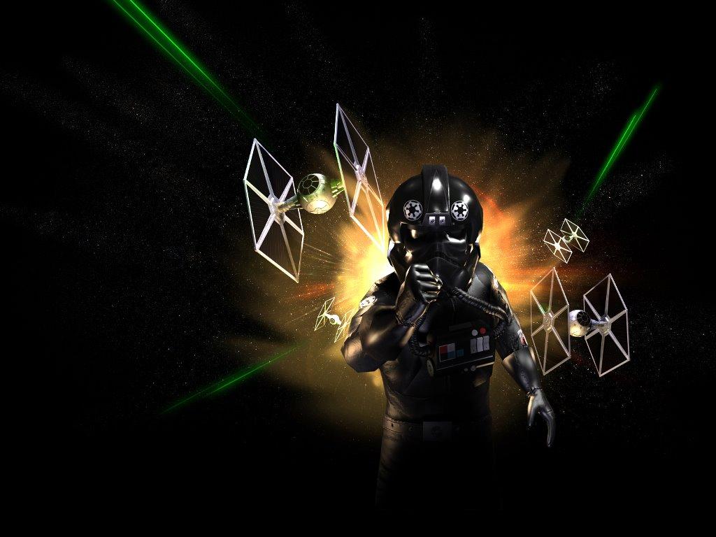 Star Wars Wallpaper: Empire Pilot