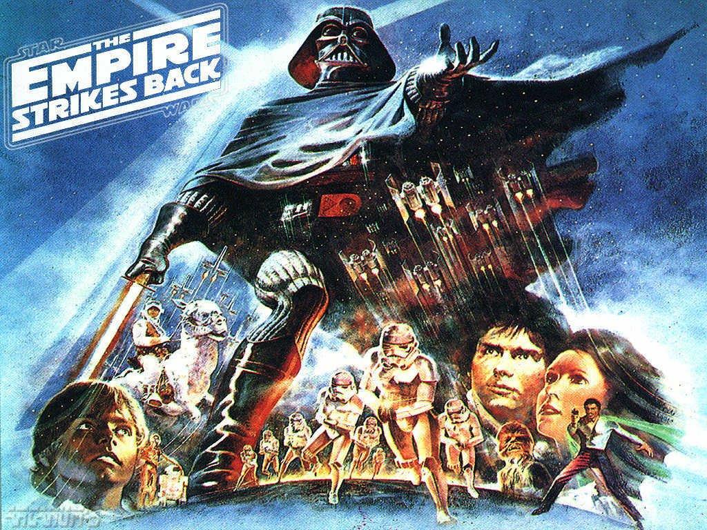 Star Wars Wallpaper: Empire Strikes Back - Alternative Poster