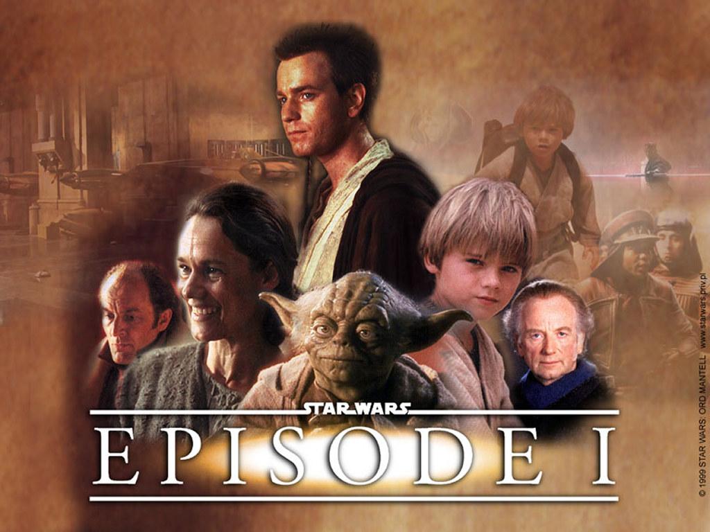 Star Wars Wallpaper: Episode I - Poster