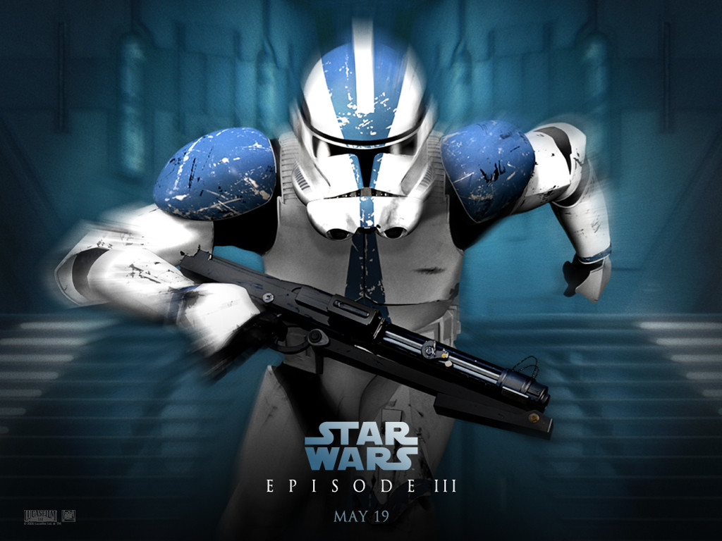 Star Wars Wallpaper: Episode III - Clone Trooper
