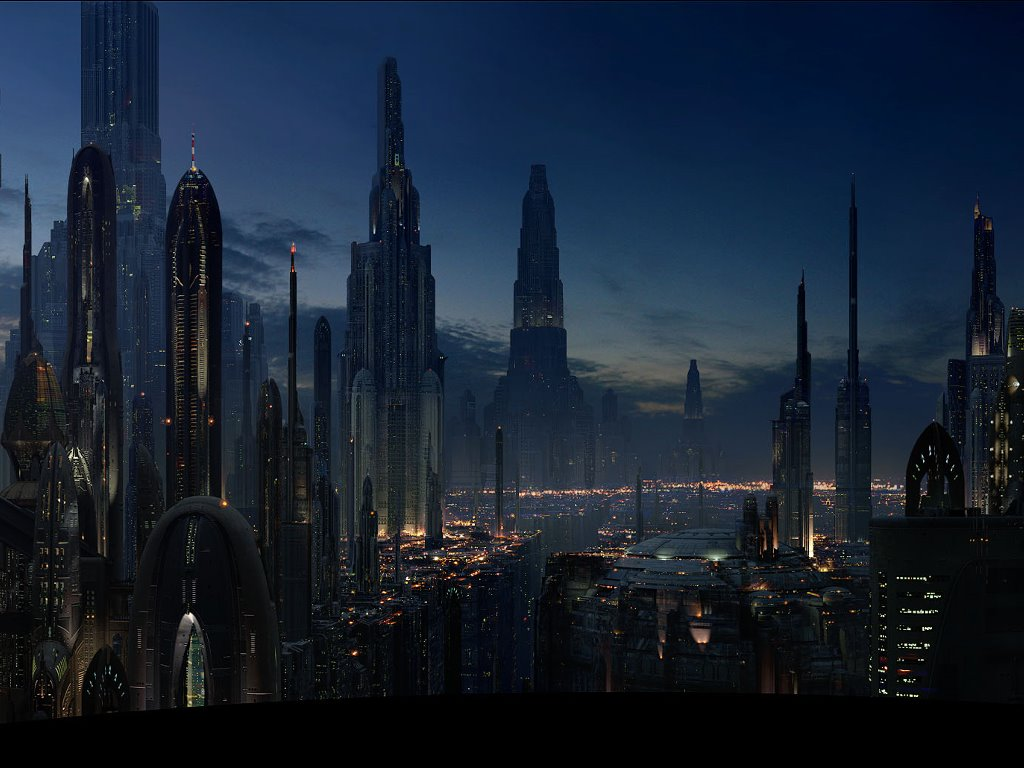 Star Wars Wallpaper: Episode III - Coruscant