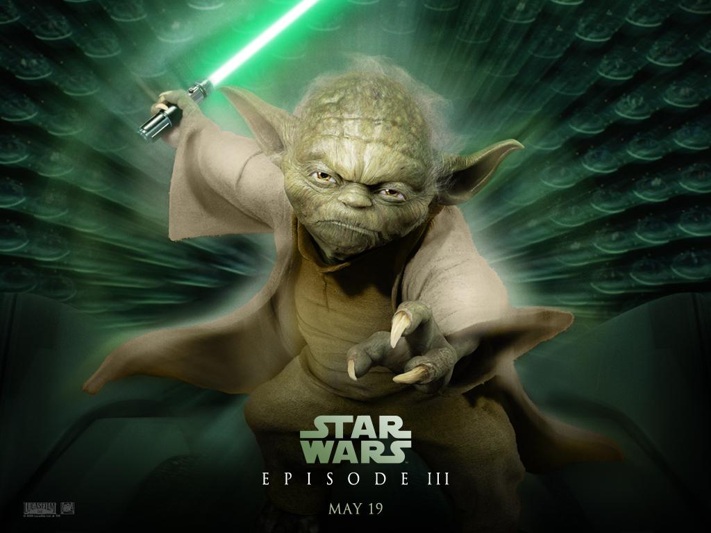 Star Wars Wallpaper: Episode III - Master Yoda