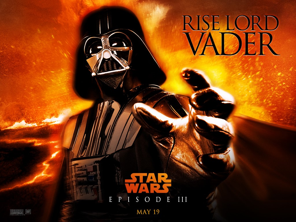 Star Wars Wallpaper: Episode III - Rise Lord Vader
