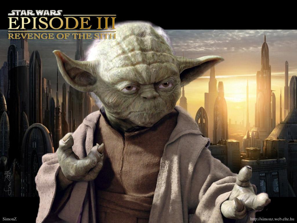 Star Wars Wallpaper: Episode III - Yoda