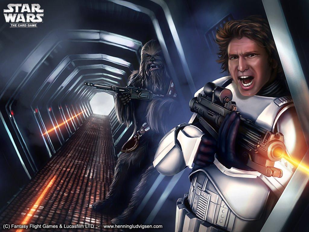 Star Wars Wallpaper: Escape Attempt