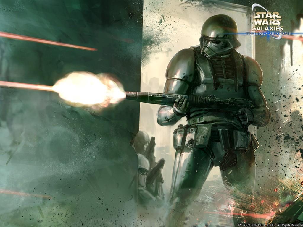 Star Wars Wallpaper: Dark Trooper