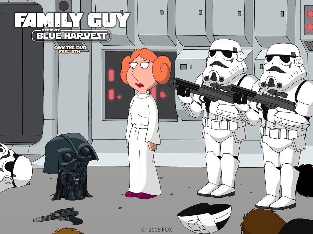 Star Wars Wallpaper: Family Guy - Blue Harvest