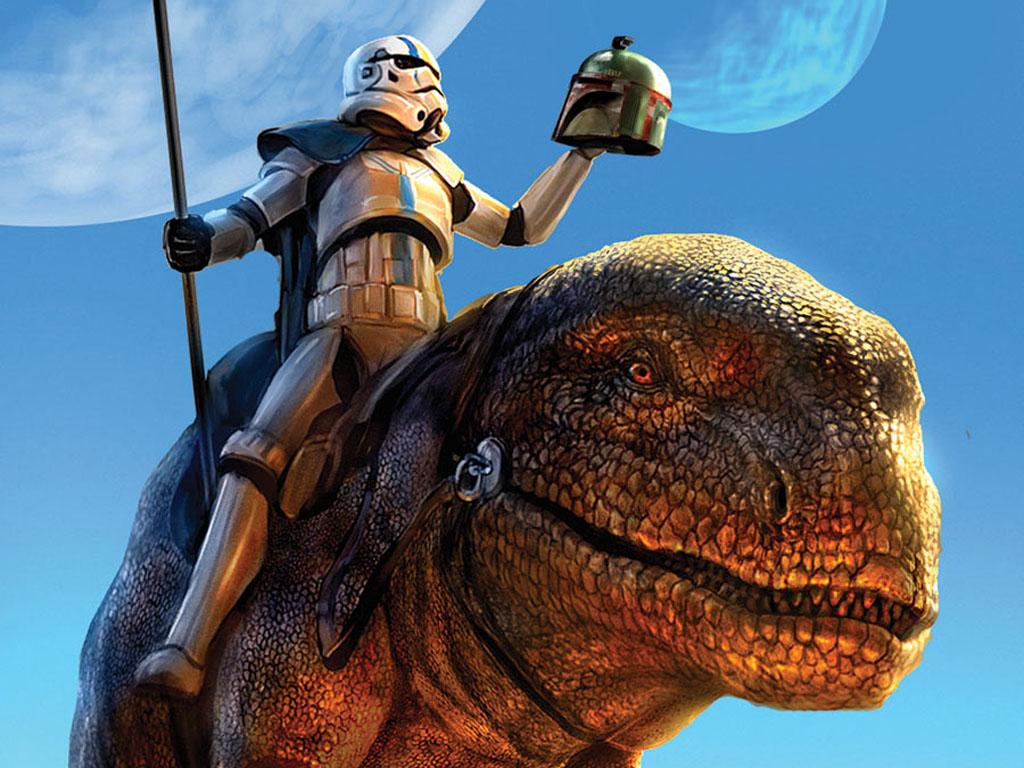 Star Wars Wallpaper: Fett is Dead?