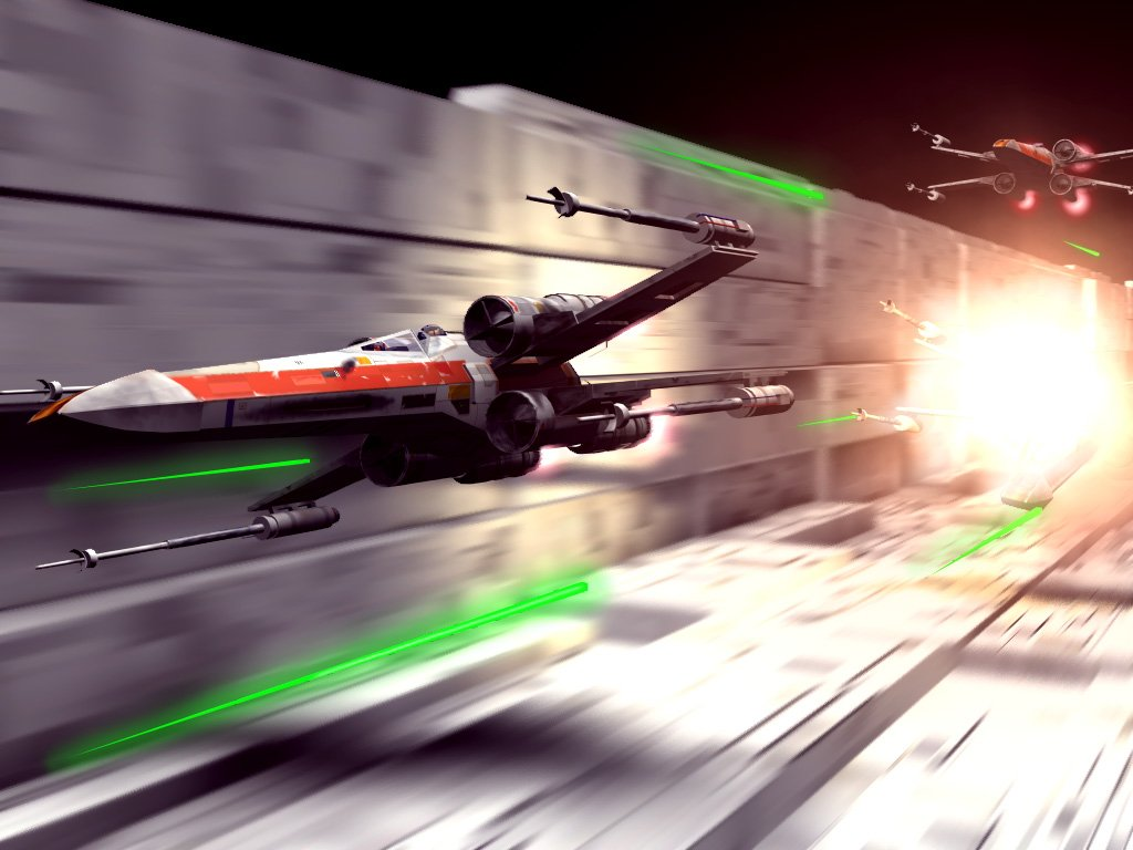 Star Wars Wallpaper: Final Race