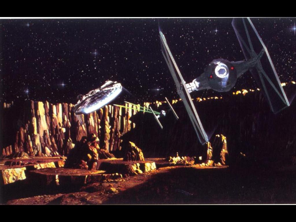 Star Wars Wallpaper: Flight for Safe
