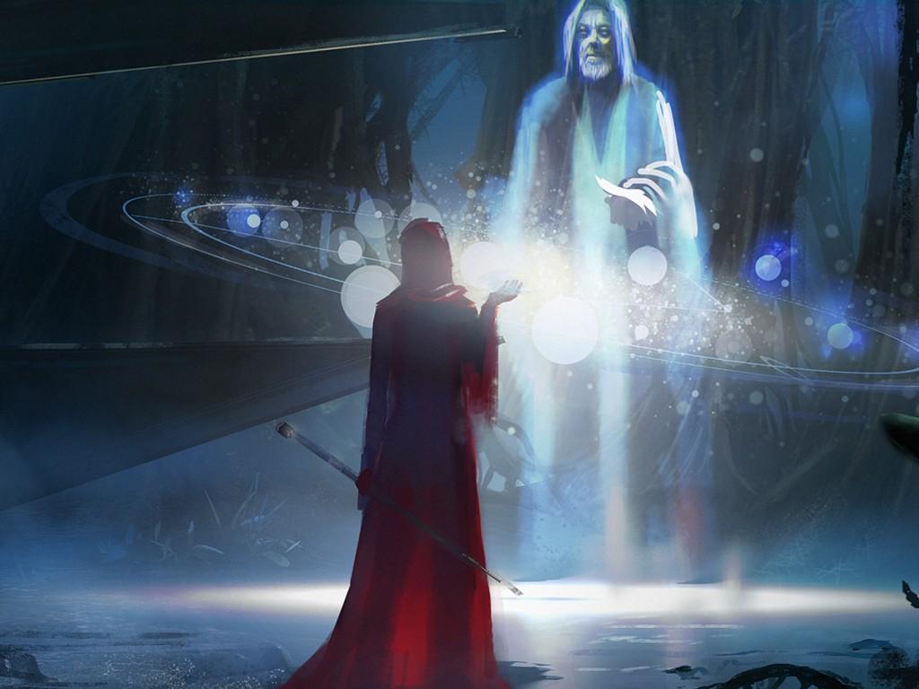 Star Wars Wallpaper: Jedi Ghost