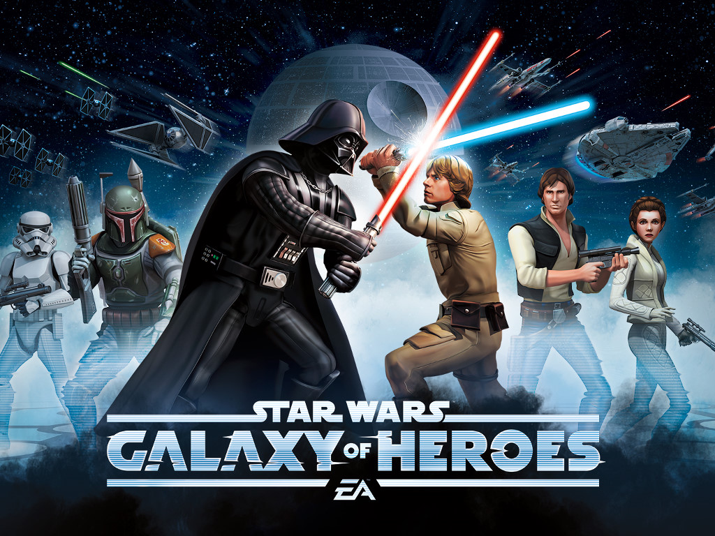 Star Wars Wallpaper: Galaxy of Heroes
