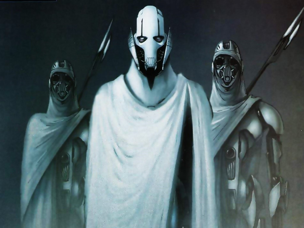 Star Wars Wallpaper: Grievous and Bodyguards