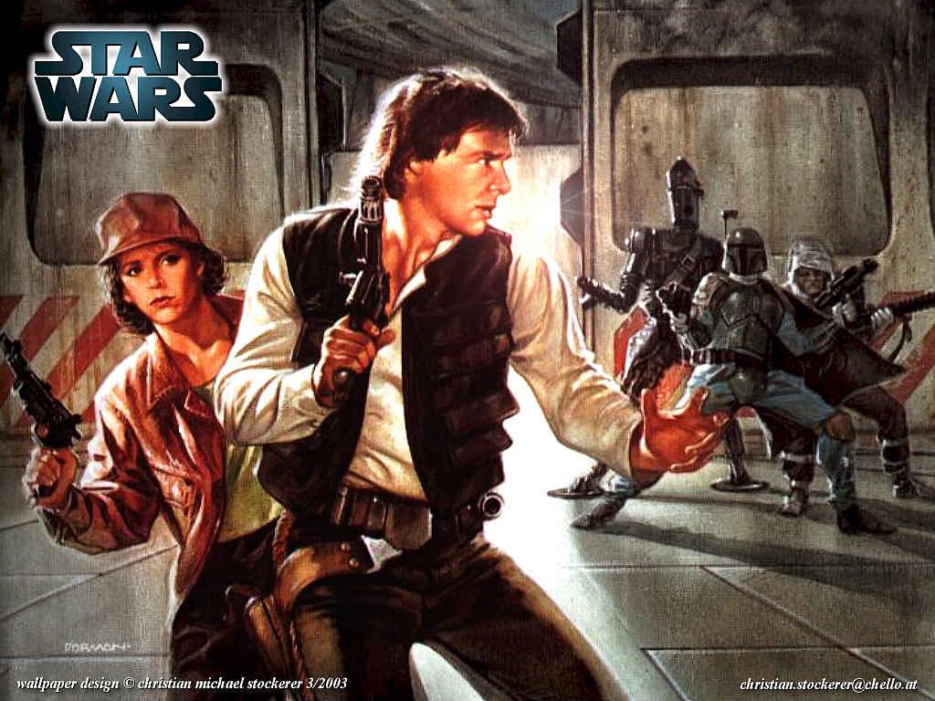 Papel de Parede Gratuito de Guerra nas Estrelas : Han Solo por Christian Stockerer