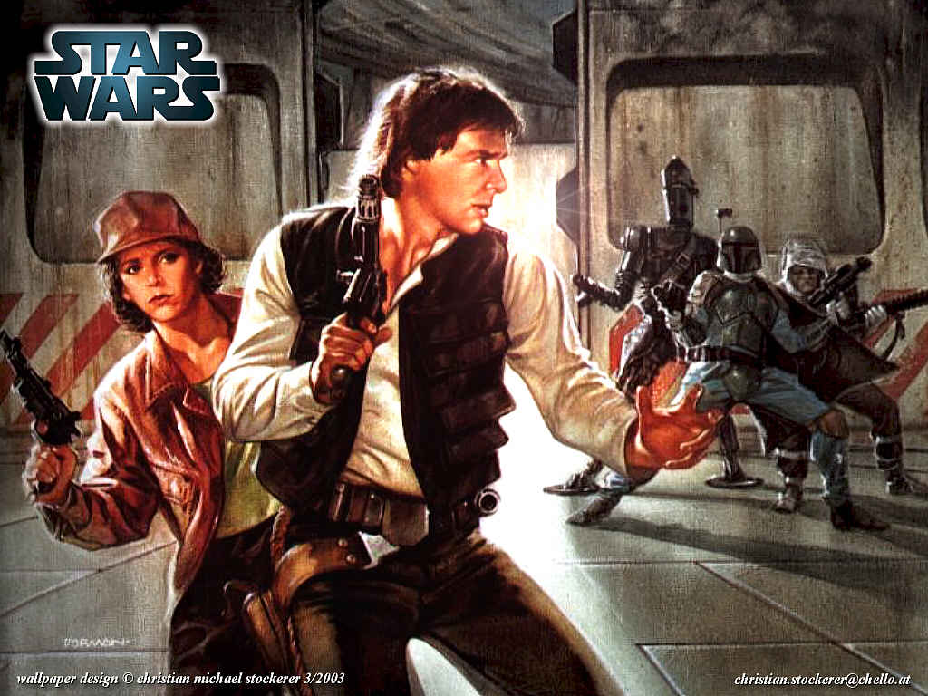Star Wars Wallpaper: Han Solo by Christian Stockerer