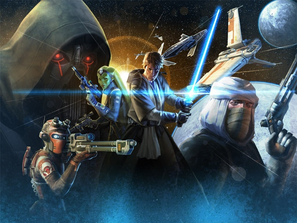 Star Wars Wallpaper: Heroes of the Old Republic
